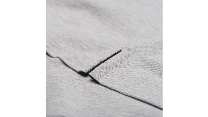 Piqué-Poloshirt mit Kontrastkragen