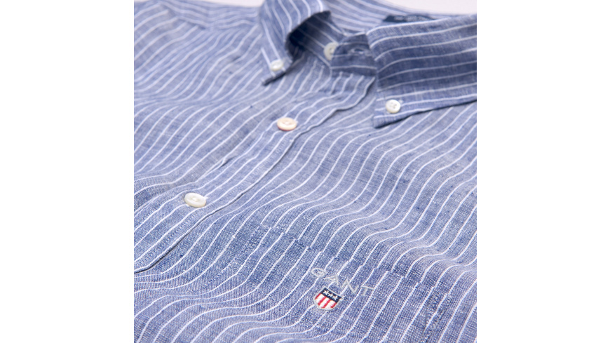 The Regular Pinstripe Linen Shirt