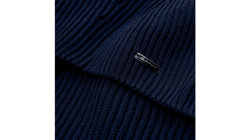 Chunky Ribbed V-Neck Pullover