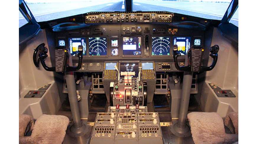 Boeing 737 Flugsimulator in Berlin