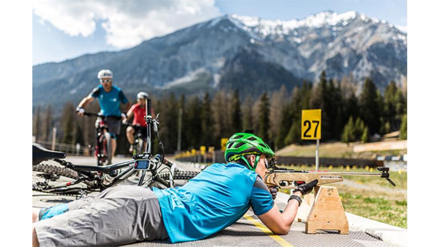 Bike Biathlon Wochenende in der Lenzerheide