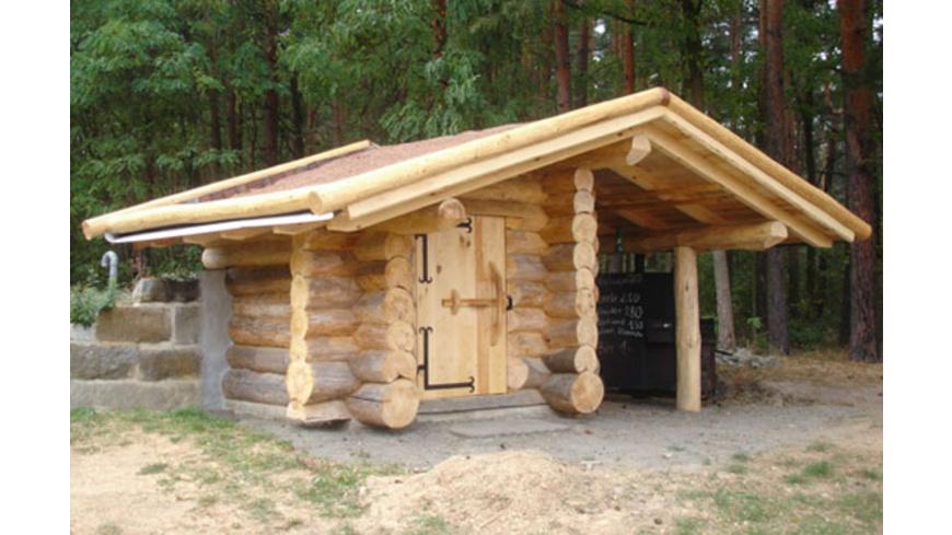 Blockhaus bauen Schnupperkurs