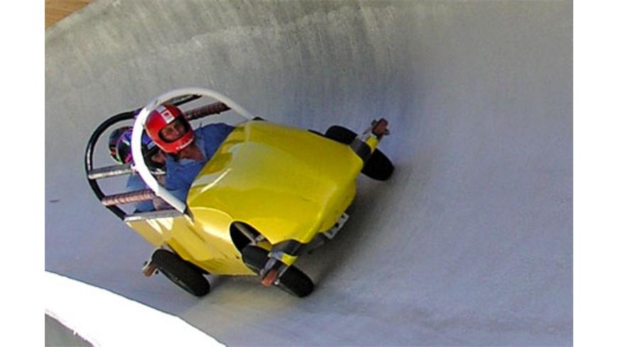 Sommer-Bobfahren in Innsbruck