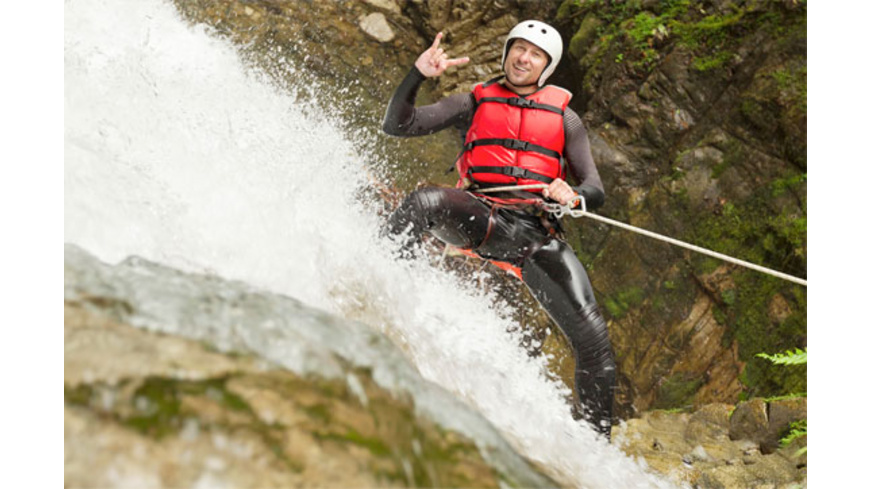 Canyoning in Kroatien