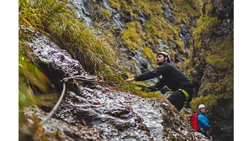Kurzurlaub im Chiemgau mit Schluchten-Trekking für 2