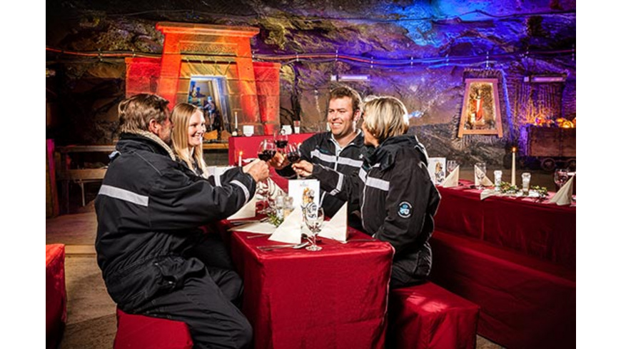 Dinner im Salzbergwerk Berchtesgaden