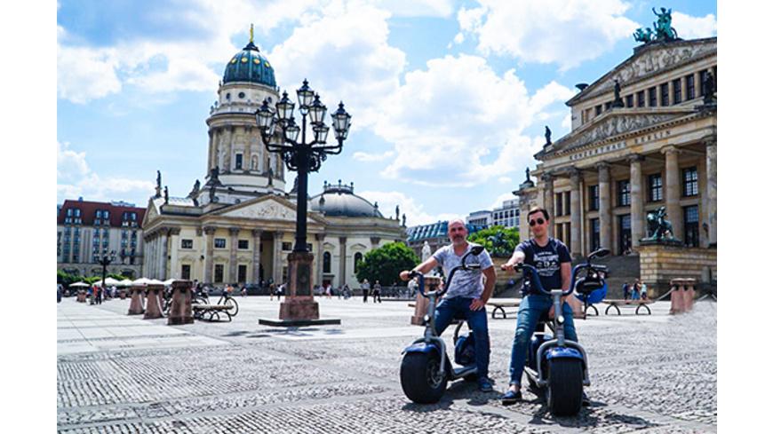 Sightseeing-Tour mit dem Elektroroller in Berlin