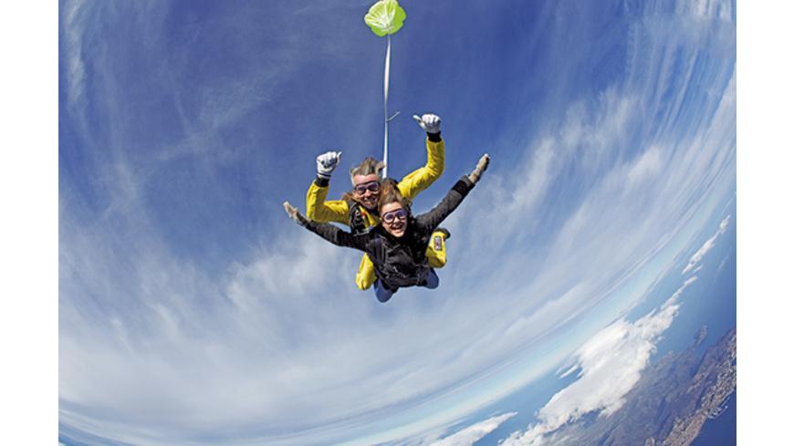Fallschirm Tandemsprung aus 5.000 Metern in Spanien