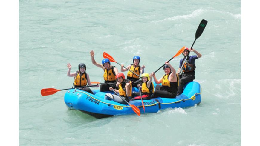 Rafting Tour für Gross & Klein in Österreich