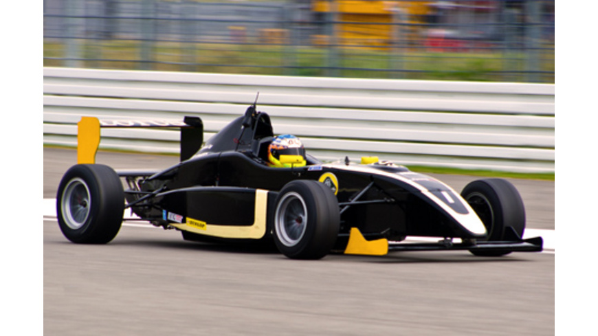 Formel-Rennwagen fahren