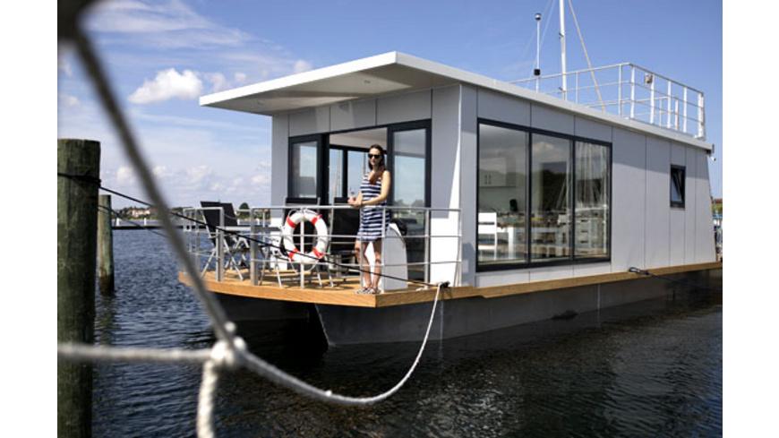 Hausboot Kurzurlaub in Daenemark für bis zu 4