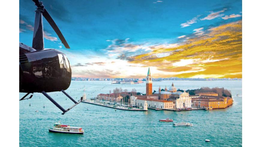 Heli-Rundflug über Venedig (15 Minuten)