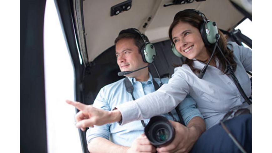 Romantischer Paerchenrundflug im Helikopter (30 Min.)