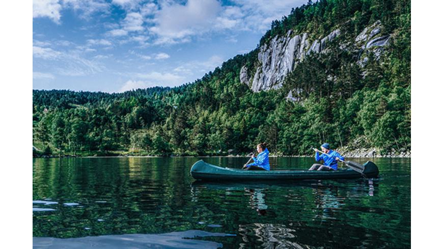 Abenteuer-Hüttenurlaub in Norwegen für 2