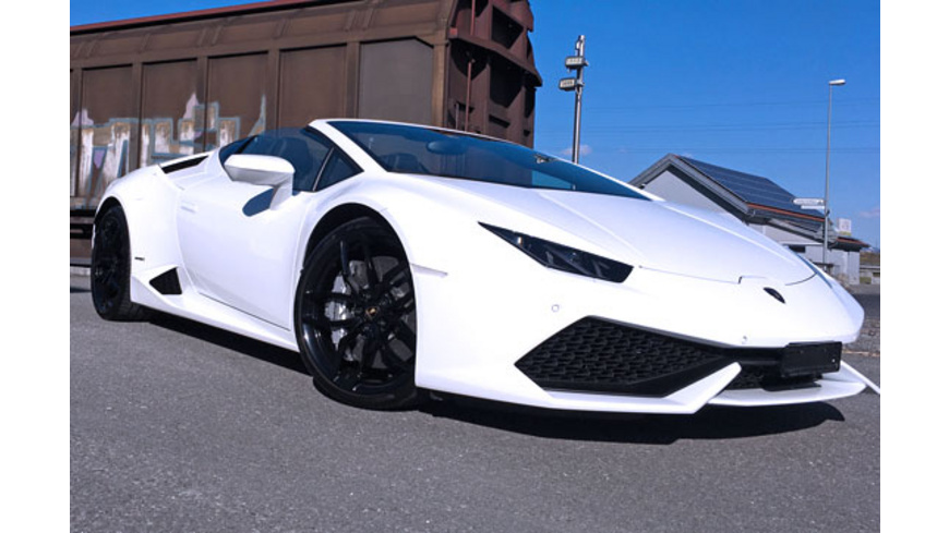 Lamborghini Huracán Spyder fahren Raum St. Gallen (6 Std.)