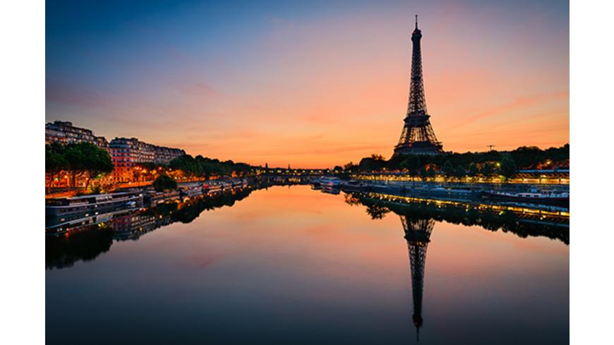 Paris Kurztrip mit nächtlicher Bootsfahrt für 2