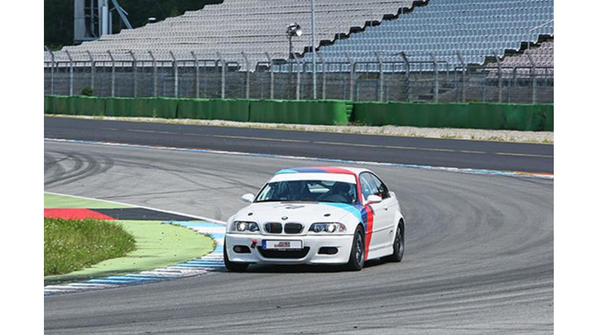 Renntaxifahrt BMW M3 am Hockenheimring