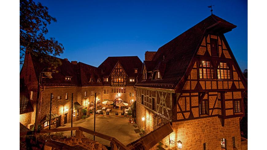 Romantik-Kurzurlaub auf der Wartburg für 2 (3 Tage)