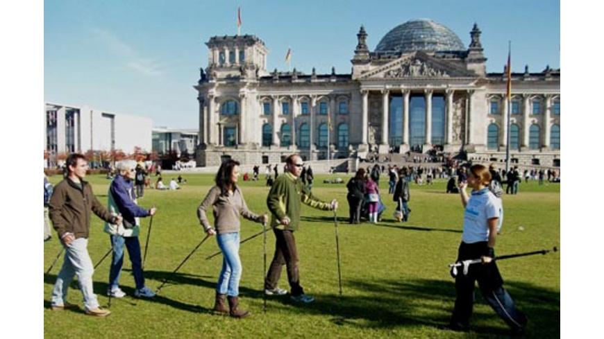 Nordic Walking Stadtführung Berlin