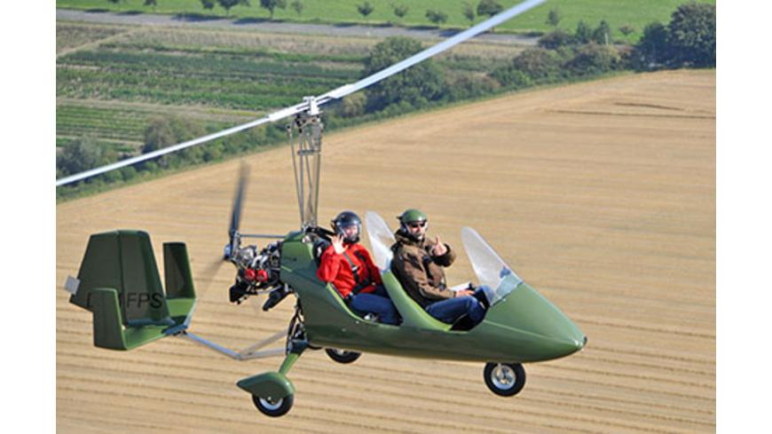 Tragschrauber Rundflug (60 Min.)