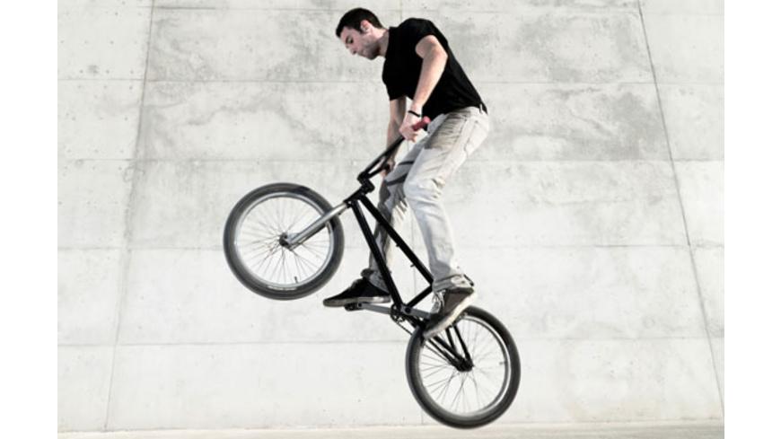 BMX- oder Skate-training bei Hof