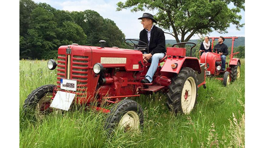 Oldtimer-Traktor fahren Raum Heidelberg