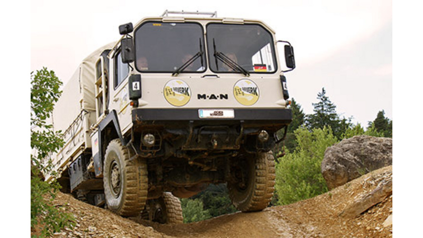 Truck Trial im Altmuehltal