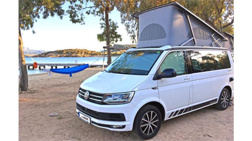 Kurzurlaub im VW Camper für bis zu 4 Personen ab Hamburg