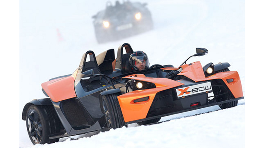 KTM X-Bow Wintercup Schnuppertraining