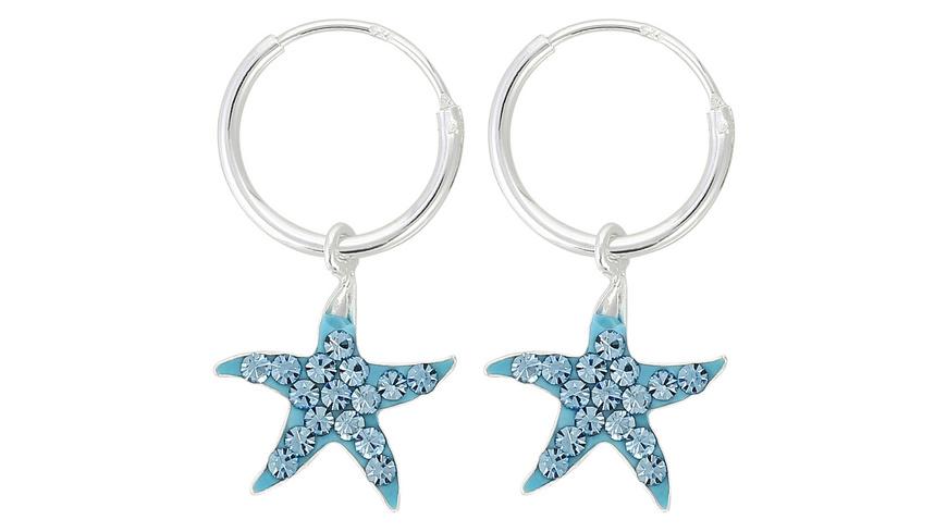 Creolen - Glitter Starfish