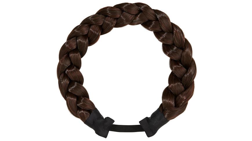 Haarteil - Braun geflochten