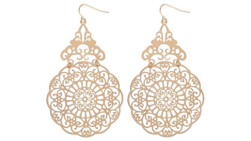 Ohrhänger - Gold Mandala