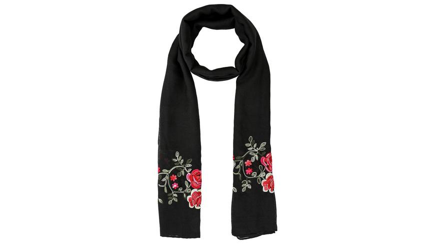 Tuch - Black Roses