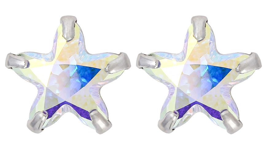 Ohrstecker - Rainbow Star