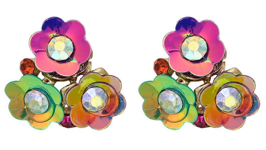 Ohrstecker - Sparkling Flowers