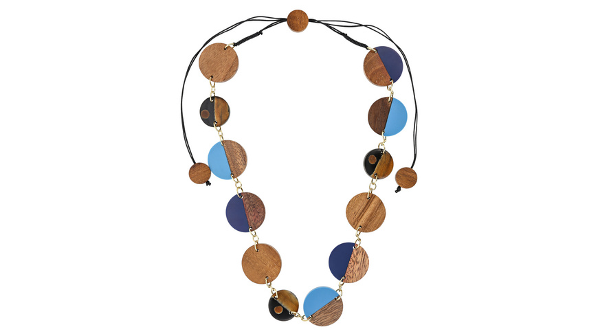 Kette - Blue Wood
