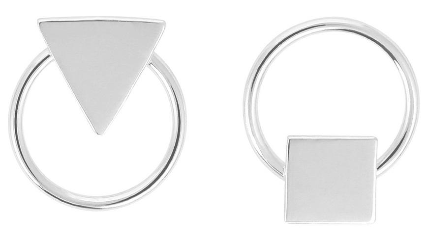 Ohrstecker - Silver Triangle