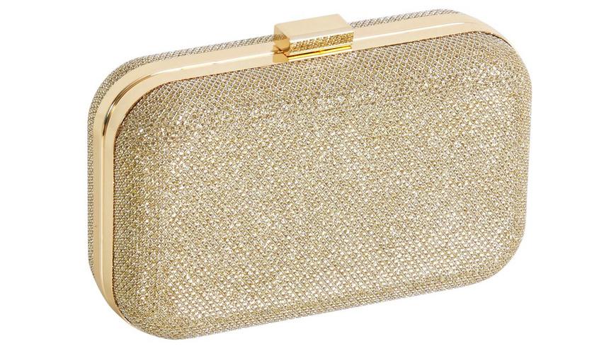 Clutch Box - Gold Glitter
