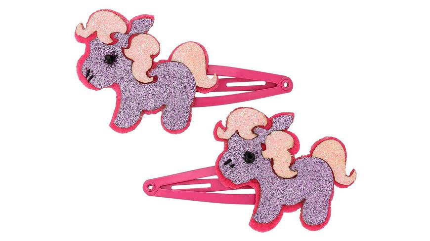 Haarspange - Glitter Pony