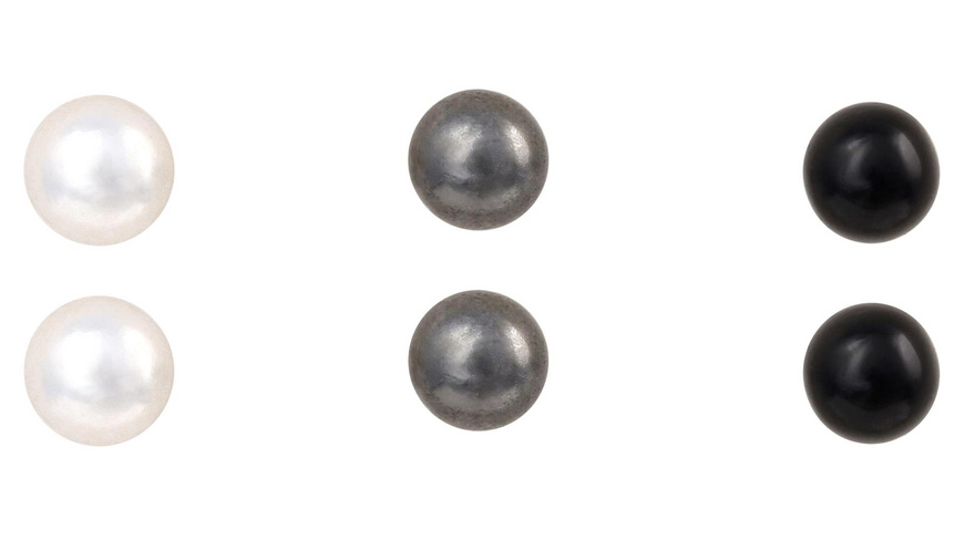 Ohrstecker - Grey Pearls
