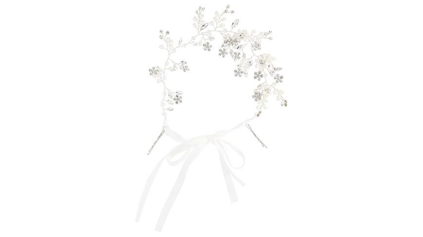 Haarklammer - Pearls & Crystals