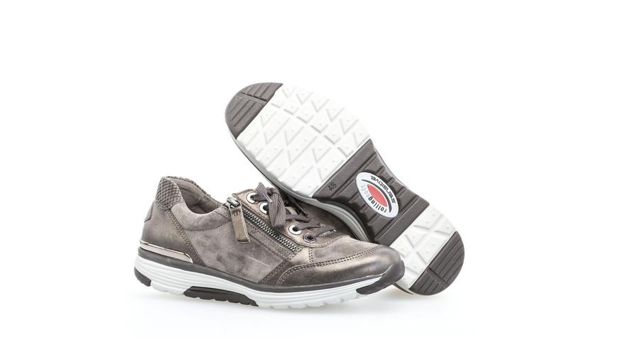 Sneaker low Effektleder
