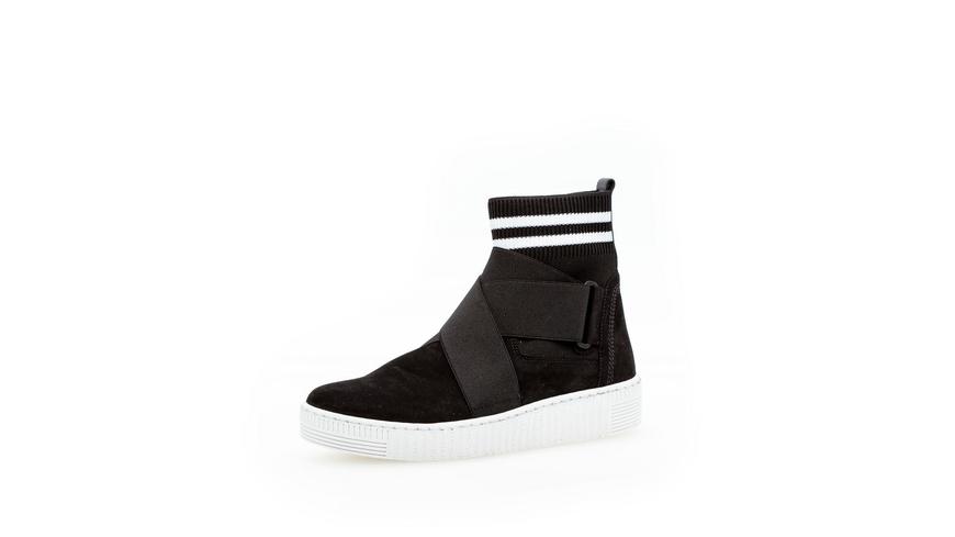 Sneaker high Rauleder
