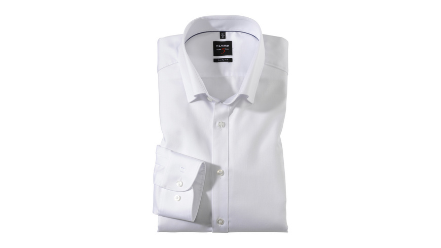 OLYMP Level Five Hemd, body fit, Under-Button-down