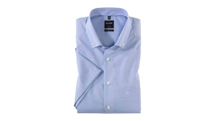 OLYMP Luxor Kurzarmhemd, modern fit, Button-down