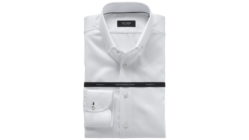 OLYMP SIGNATURE Hemd, tailored fit, SIGNATURE Button-down