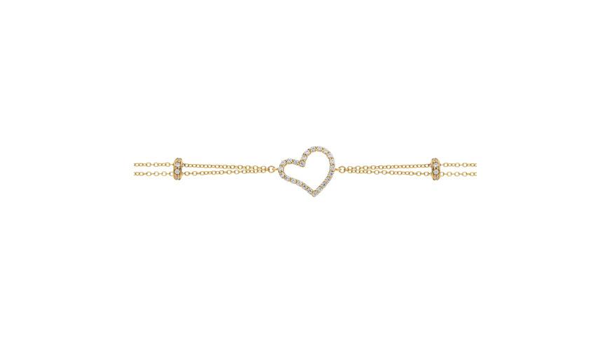 Armband Zirkonia Gold