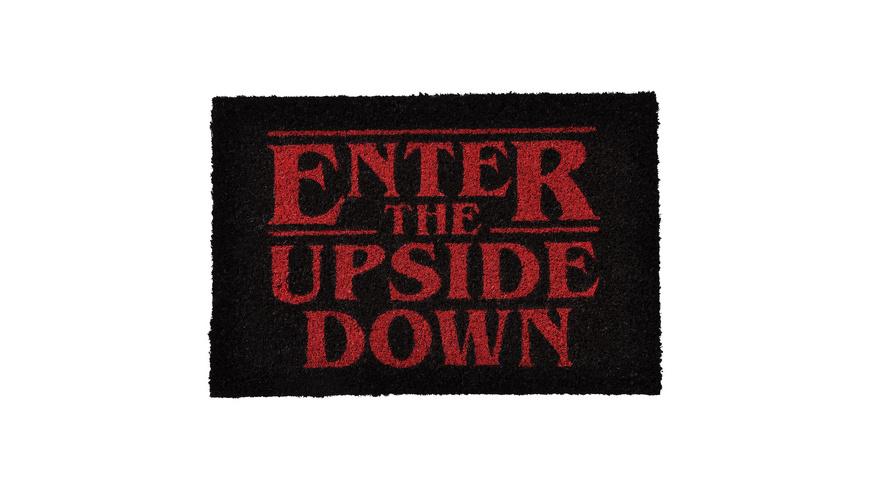 Stranger Things - Enter The Upside Down Fußmatte
