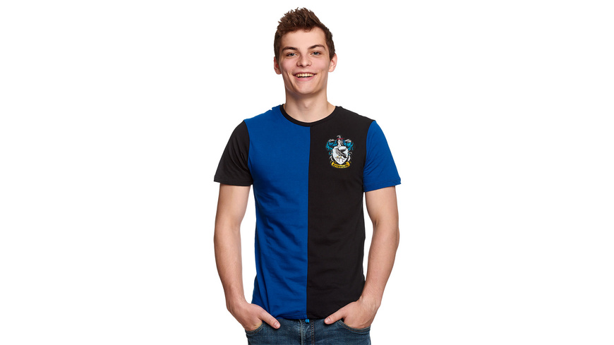Harry Potter - Ravenclaw Tournament T-Shirt blau-schwarz