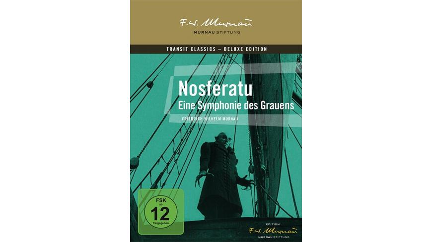 Nosferatu - Eine Symphonie des Grauens  Deluxe Edition (inkl. 20-seitigem Booklet)